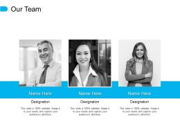 Our Team Communication Introduction E341 Ppt Powerpoint Presentation File Styles