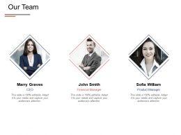 Our Team Communication Introduction E421 Ppt Powerpoint Presentation Show Portfolio