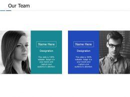Our Team Communication J153 Ppt Powerpoint Presentation File Clipart