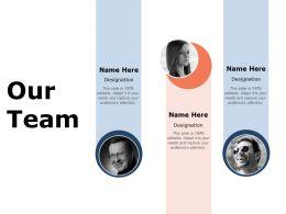 Our Team Communication L234 Ppt Powerpoint Presentation Format