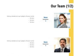 Our Team Communication L495 Ppt Powerpoint Presentation Styles Graphics Download