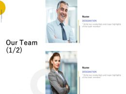 Our Team Communication L669 Ppt Powerpoint Presentation Styles