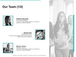Our Team Communication L732 Ppt Powerpoint Presentation Styles