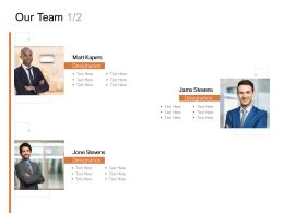 Our Team Communication Management C919 Ppt Powerpoint Presentation Ideas