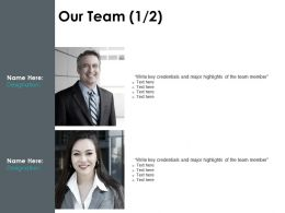 Our Team Communication Management F657 Ppt Powerpoint Presentation Slides
