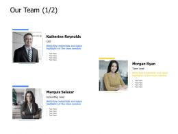 Our Team Communication Management K345 Ppt Powerpoint Presentation Deck