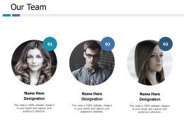 Our Team Communication Ppt Portfolio Professional