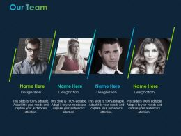 Our Team Communication Ppt Powerpoint Presentation File Grid