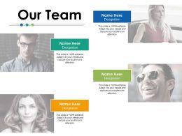 Our Team Communication Ppt Powerpoint Presentation File Smartart