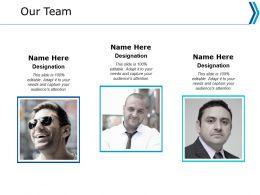 Our Team Communication Ppt Powerpoint Presentation Portfolio Master Slide