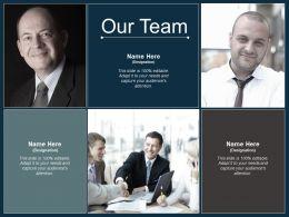 Our Team Communication Ppt Professional Design Inspiration