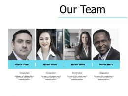 Our Team Communication Teamwork E185 Ppt Powerpoint Presentation Slides Pictures