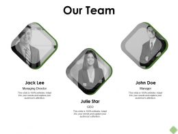 Our Team Communication Teamwork F328 Ppt Powerpoint Presentation Pictures