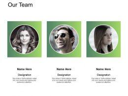 Our Team Communicationl307 Ppt Powerpoint Presentation Show