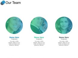 Our Team Coomunication F162 Ppt Powerpoint Presentation Portfolio Smartart