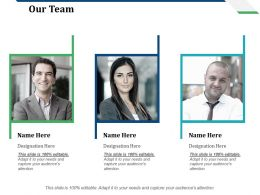Our Team Cs Lifecycle Ppt Infographic Template Background Designs
