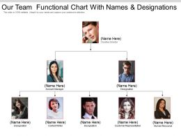 Our Team Functional Chart With Names And Designations