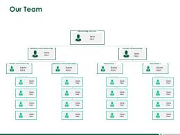 Our Team Introduction A256 Ppt Powerpoint Presentation Slides Icons