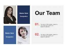 Our Team Introduction A341 Ppt Powerpoint Presentation Outline Tips