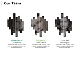 Our Team Introduction C176 Ppt Powerpoint Presentation Gallery Skills