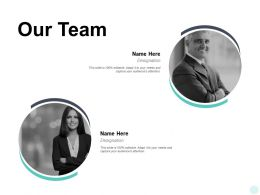 Our Team Introduction Communication E394 Ppt Powerpoint Presentation Summary