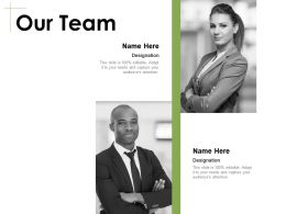Our Team Introduction Communication E46 Ppt Powerpoint Presentation Gallery Deck