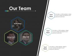 Our Team Introduction F708 Ppt Powerpoint Presentation Pictures Clipart