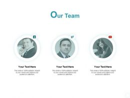 Our Team Introduction F764 Ppt Powerpoint Presentation Professional Ideas