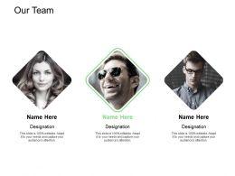 Our Team Introduction I178 Ppt Powerpoint Presentation Portfolio Designs Download