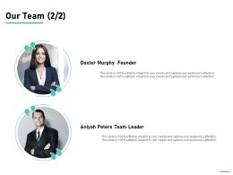 Our Team Introduction L746 Ppt Powerpoint Presentation Ideas Master Slide