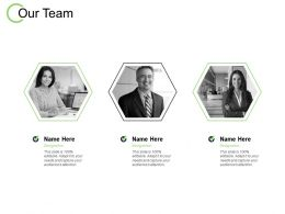 Our Team Introduction Planning C144 Ppt Powerpoint Presentation File Designs Download