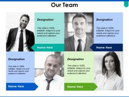 Our Team Introduction Planning C312 Ppt Powerpoint Presentation Pictures Design Ideas