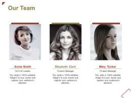 Our Team Introduction Ppt Powerpoint Presentation File Pictures