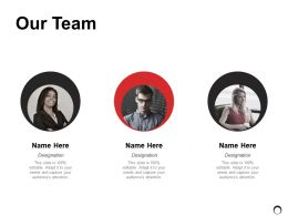 Our Team Introduction Ppt Powerpoint Presentation Gallery Professional