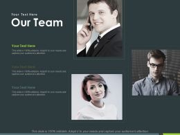 Our Team Introduction Ppt Powerpoint Presentation Inspiration Portfolio