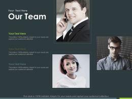 Our Team Introduction Ppt Powerpoint Presentation Inspiration Portfolio