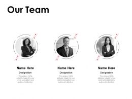 Our Team Introduction Teamwork F248 Ppt Powerpoint Presentation Pictures Tips
