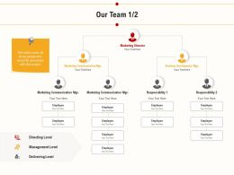 Our Team Management Level Ppt Powerpoint Presentation Pictures