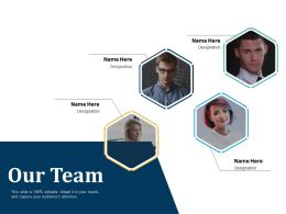 Our Team Members J2 Ppt Powerpoint Presentation Ideas Images