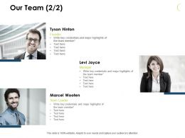 Our Team Members J58 Ppt Powerpoint Presentation File Slide