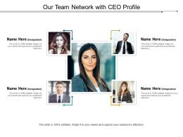 Our Team Network With Ceo Profile