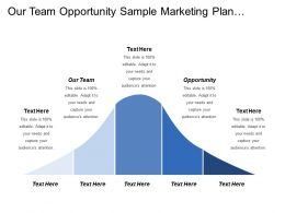 Our Team Opportunity Sample Marketing Plan Business Intelligence