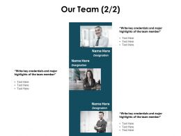 Our Team Planning Communication L38 Ppt Powerpoint Presentation Deck