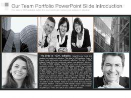 our_team_portfolio_powerpoint_slide_introduction_Slide01