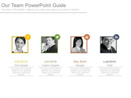 Our Team Powerpoint Guide