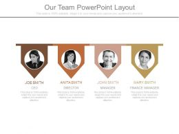 Our Team Powerpoint Layout