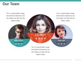 Our Team Powerpoint Presentation Templates Template 1