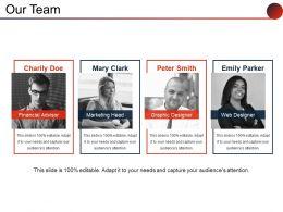 Our Team Powerpoint Slide Background Designs