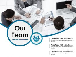 Our Team Powerpoint Slide Backgrounds