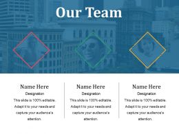 Our Team Powerpoint Slide Show Template 1
